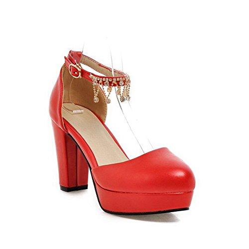 BalaMasa , Sandales pour femme Rouge