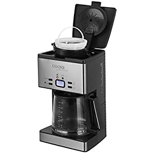 Filter Coffee Machine, Electric 24 Hour Automatic LCD Timer Large 15 Cup Capacity, Anti Drip Function & Hotplate 1000W Cooks Professional