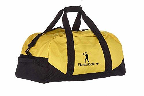 Kindertasche NT5688 gelb/schwarz Baseball
