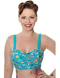 Banned Unforgettable Aqua Mermaid Bikini Top