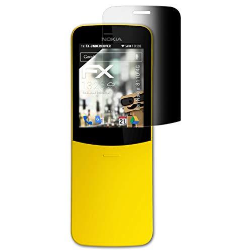 atFolix Blickschutzfilter kompatibel mit Nokia 8110 4G Blickschutzfolie, 4-Wege Sichtschutz FX Schutzfolie