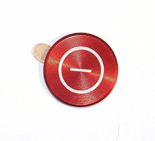 iPhone-Zubehör, Home-Tasten-Aufkleber aus farbigem Metall, für iPhone 6,5s, 5c, 5,4,3, iPhone, iPad, iPod (Ipod Sticker Home Für 4)