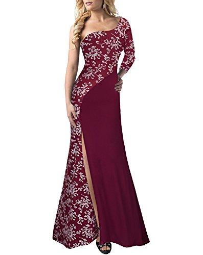laozan-donna-vestiti-abito-lungo-senza-spalline-una-spalla-del-merletto-per-cocktail-rosso-medium