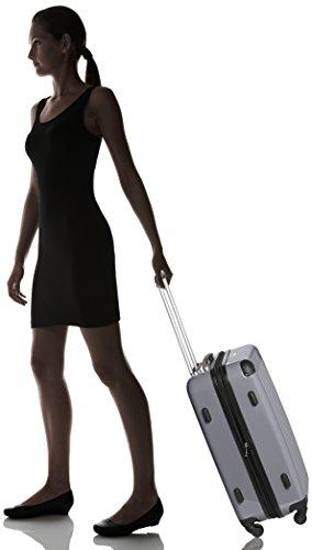 HAUPTSTADTKOFFER - Alex - Hartschalen-Koffer Koffer Trolley Rollkoffer Reisekoffer Erweiterbar, 4 Rollen, 65 cm, 74 Liter, Titan -