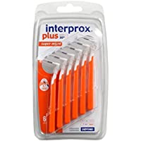 Interprox plus Cepillos interdentales naranja super micro 3 x 6 piezas