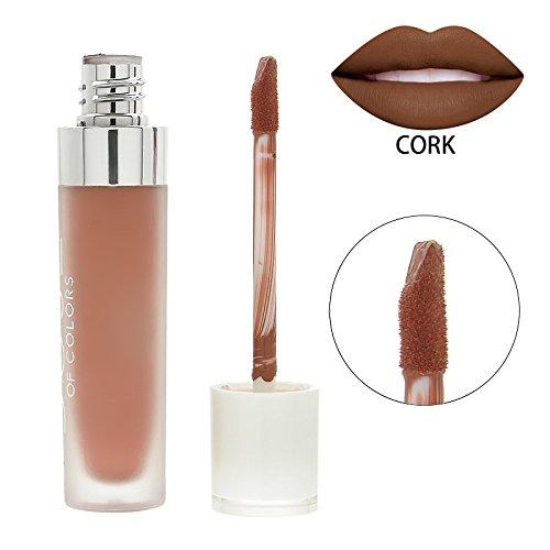topbeauty Data di lunga durata Liquid Lipstick-Matte Lipstick-Lipgloss non Bastone sulla taglio del rossetto