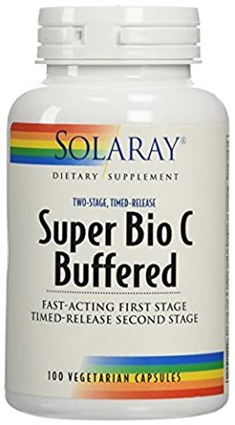 Solaray - Super Bio C (Buffered), 1000 mg, 100 capsules by Nutraceutical