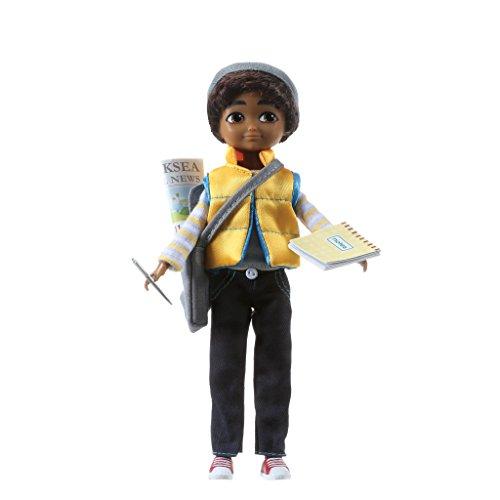 Lottie Puppe Jungen LT083 Junior Reporter Sammi Finn - Puppen Zubehör Kleidung Puppenhaus Spieleset - Zubehör Kleidung Puppenhaus Spieleset - ab 3 Jahren