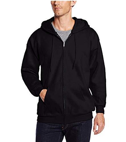 PQW Herren Langarm Pullover Hoodie Sweatshirt Zip Cardigan Jacke Sport Herrenjacke - Zip Jumper