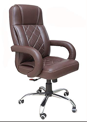 beAAtho JS-2 Executive High Back Office Chair (Brown)