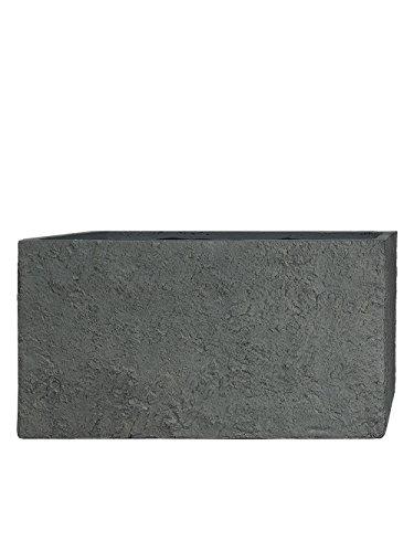 PFLANZWERK® Pflanzkübel TUB Lava Grau 30x60x30cm *Frostbeständig* *UV-Schutz* *Qualitätsware*