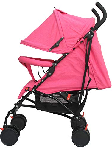 Buggy Stroller Travel Buggy Summer Pink Lightweight Pushchair for Kids