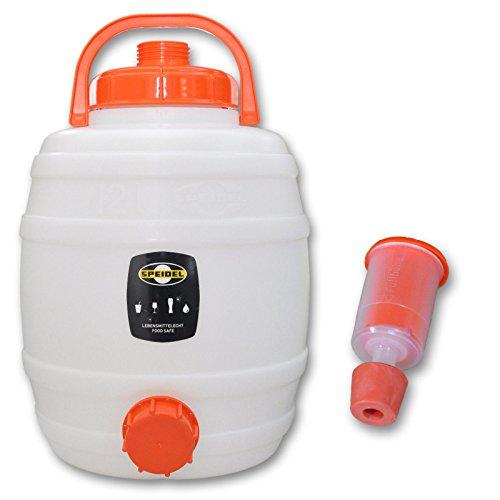 Speidel Getränkefass 12 Liter Rund + Gärspund