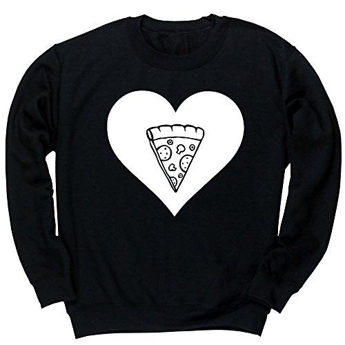 hippowarehouse-corazon-pizza-jersey-sudadera-sueter-derportiva-unisex