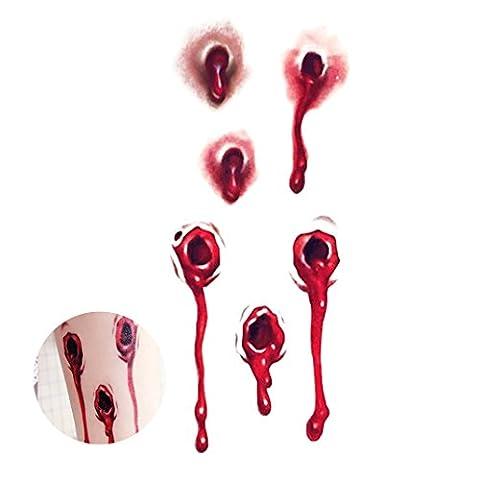 Décors Et Costumes Dhalloween - Moon mood® Halloween Décoration - Halloween Stickers