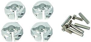 Carson 500530003-Accesorios de construcción: TT de 01Aluminio Llanta mitnehmer, 12mm, 4Unidades