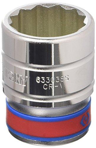 Preisvergleich Produktbild King Tony 633038s 12-points Sockel,  1–3 / 16 / 3 / 4-Zoll