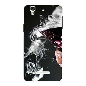 Mobile Back Cover For Micromax Yureka (Printed Designer Case)