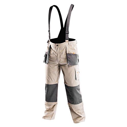 Profi Arbeitslatzhose 6 in 1 Latzhose Arbeitshose Arbeitskleidung Hose L