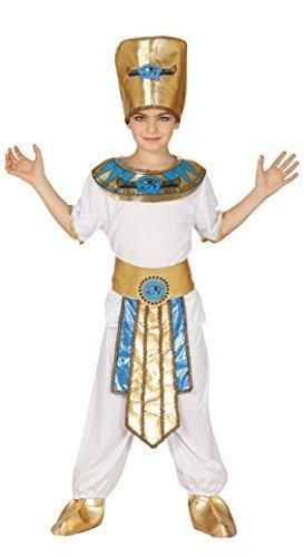 Jungen Antike Ägyptisch Lineal Pharao King Historisch Maskenkostüm 5-12 yrs - 10-12 (Pharao Kostüme Jungen)