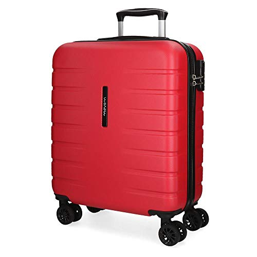 Maleta de cabina rígida Movom Turbo roja