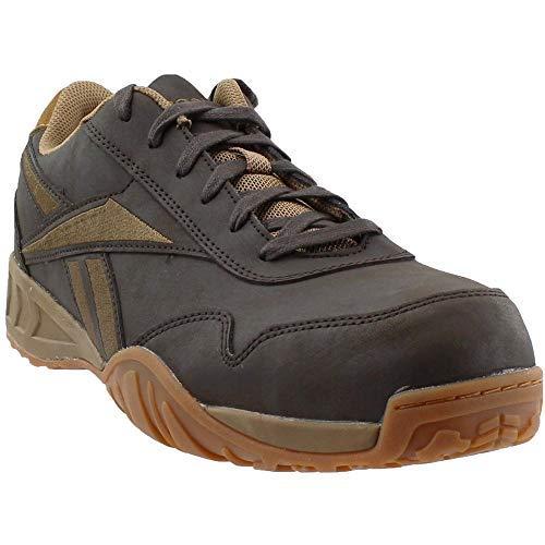 Composite-toe Sneaker (Reebok Men's Work Bema Composite Toe Sneaker Brown 9 M)