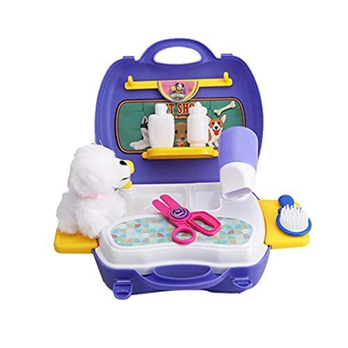 16 CS Pet Dog Simulation Aufbewahrungsbox/Entwicklungsspielzeug / Spielhaus/Für Kinder/Verbesserung der Kreativität von Kindern (Verbesserung Kreativität Der)
