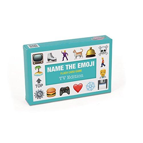 Bubblegum Stuff BG1803 Name The Emoji-TV Kartenspiel