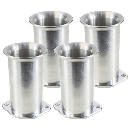 Ramair Filters Bot-40–75–4PK Weber dcoe 40mm perno de velocidad pila de trompeta, 75mm, juego de 4