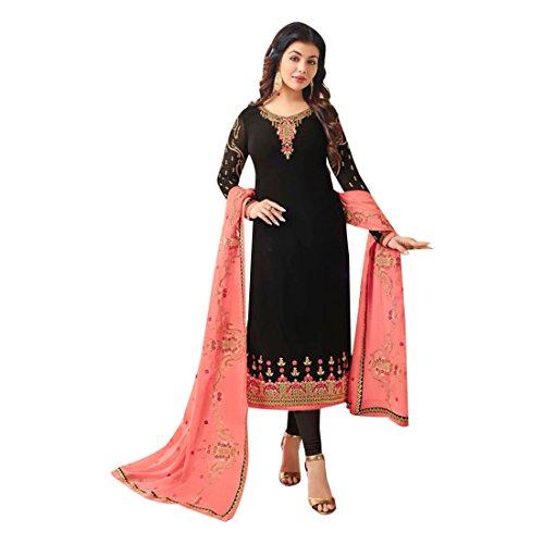 Maßanfertigung Custom to Measure Europe size 32 to 44 Ceremony Party Wear Straight Salwar Suit Women Designer Kleid Zeremonie Kleid Material Partei tragen indische Hochzeit Braut 2516