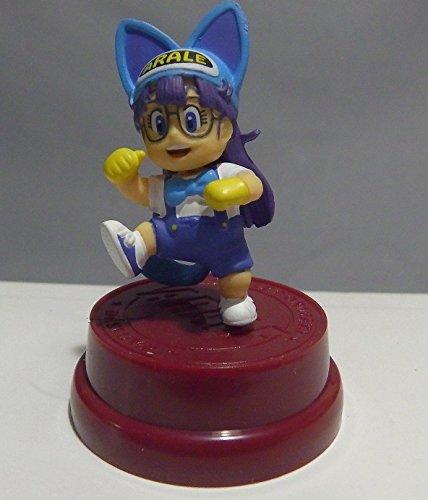 Bandai Dr Slump Arale Collection Mini Figure~Cat Ears~Size 40mm ... (Gold Mario Amiibo)