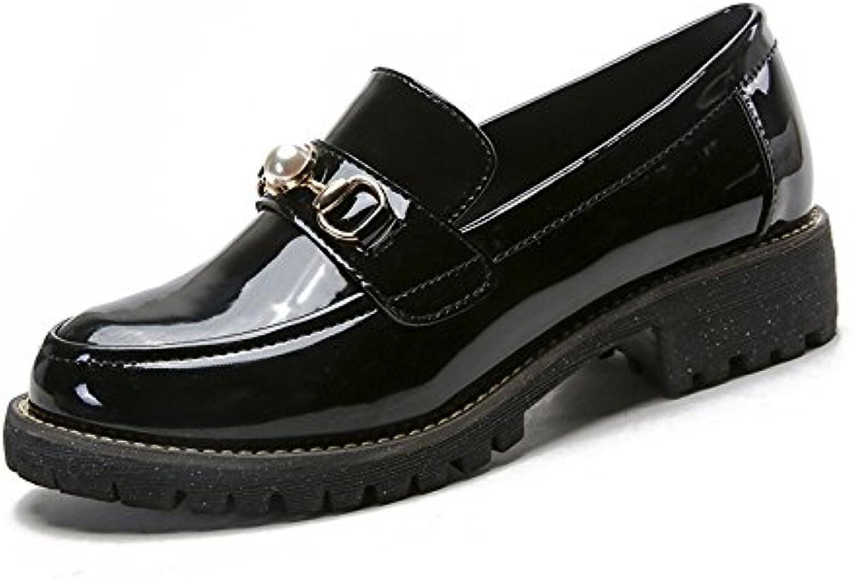 angrousobiu chaussures enfants chaussures chaussures chaussures avec audace et polyvalent des rétro un grand nombre de petites chaussures en cuir...b07cgqsrk3 parent | Luxuriant Dans La Conception  cf9ae3