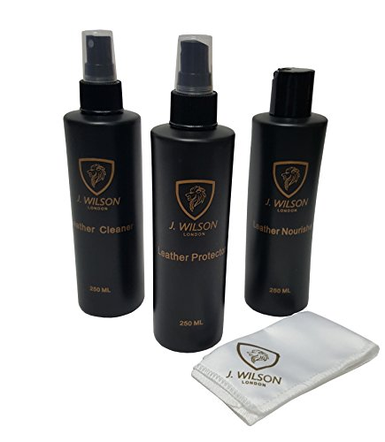 J Wilson London Complete Leather Care Kit Cleaner Protector for sale  Delivered anywhere in UK
