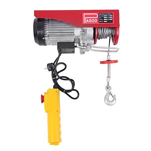 Ridgeyard Polipasto eléctrico con control Para talleres taller de la tienda casera(1200W...