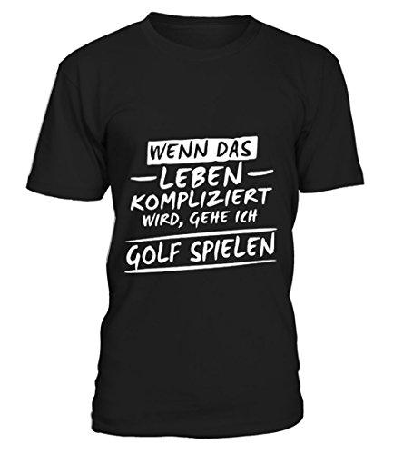teezily Gehe Ich Golf Spielen T-Shirt Unisex (Golf Ich T-shirt Spielen)