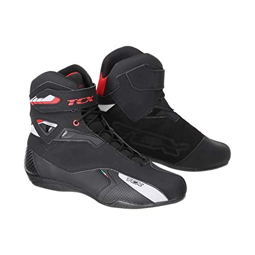 SCARPE MOTO TCX RUSH WP (43, BLACK)