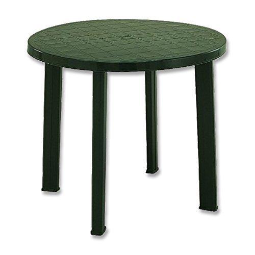 Fun Star Kunststofftisch 90 cm grün Tondo