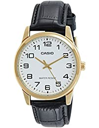 Casio Enticer Analog White Dial Men's Watch - MTP-V001GL-7BUDF (A1085)