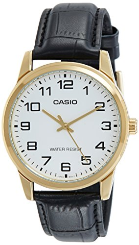 Casio Enticer Analog White Dial Men\'s Watch-A1085 (MTP-V001GL-7BUDF)