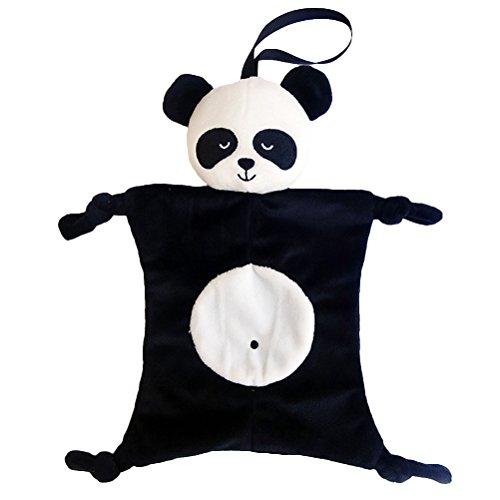Doudou per neonati YeahiBaby Copertina Neonati di Peluche Baby Comforter (Panda)