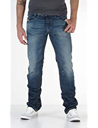 Diesel - Jeans Iakop Regular Slim tapered bleu homme 0814A