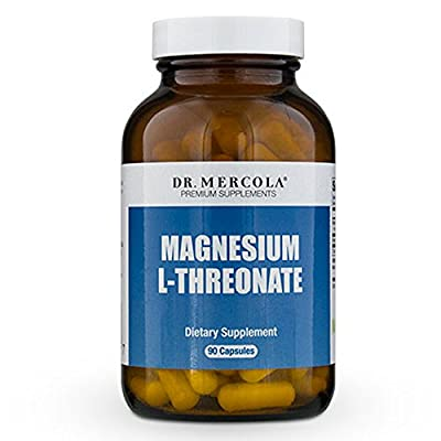 Magnesium L-Threonate (90 per bottle): 30 Day Supply - Dr Mercola from Dr Mercola