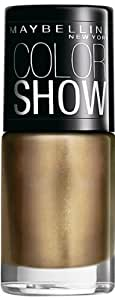 Maybelline Color Show Nail Enamel, Bold Gold, 6ml