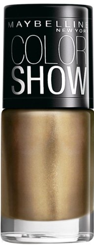 Maybelline Color Show Nail Enamel, Bold Gold 6ml