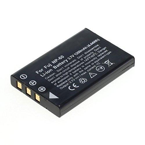 Cellonic® batteria premium per toshiba camileo p10 s10 hd pro hd pro s10 p30 p10 h20 (1200mah) np-60, pdr-bt3, px1425e-1brs batterie di ricambio, accu sostituzione, sostituto