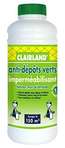 CLAIRLAND Bidon Anti-Dépôts Verts et Imperméabilisant des...