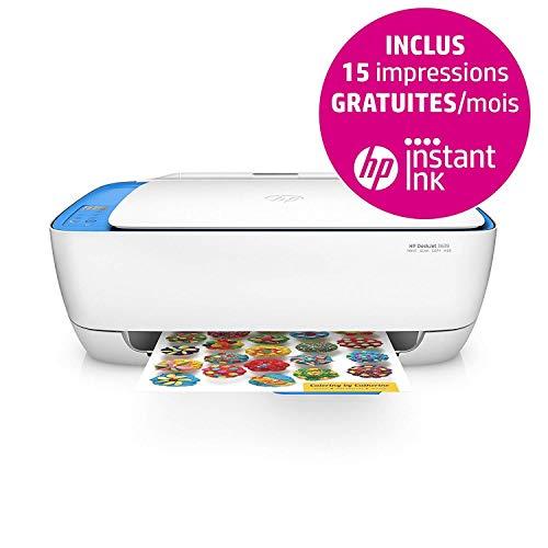 HP Deskjet 3639 Imprimante Multifonction Jet d'encre Couleur (8,5ppm, 4800 x 1200 ppp,...