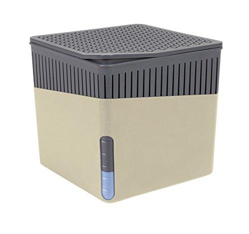 Wenko 50222100deshumidificador Cube 1000g deshumidificador Capacidad 1.6L, color beige