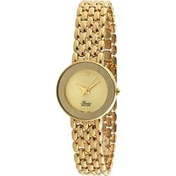 Swiss Edition se3800-c Damen-Armbanduhr Gold Panther Link