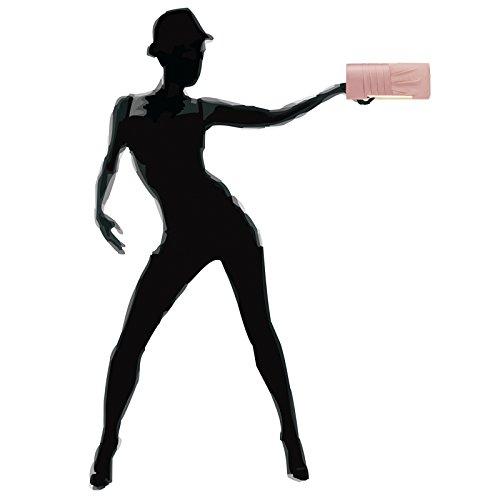 Caspar Ta367 Elegante Borsa Da Sera In Raso Con Pochette Da Donna Con Treccia Overflow Rosa